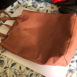 Roomy purse/tote/ a few ink marks hard to see